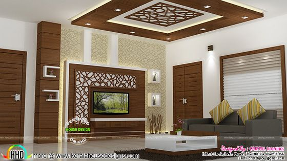 Living interior Kerala