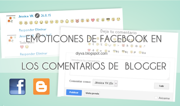 facebook, emoticons, blogger, web
