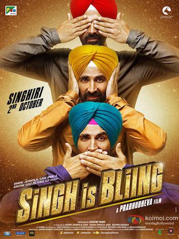 Singh Is Bliing 2015 Hindi DVDRip 700mb ESubs