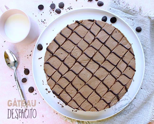 recette gateau au chocolat despacito