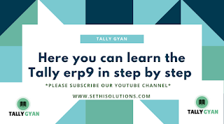 How To Learn Tally Erp 9 In English Pdf