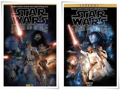 Resenha Star Wars - A Guerra nas Estrelas Volume 1 e 2