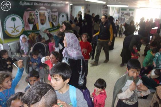 klinik pengungsi suriah