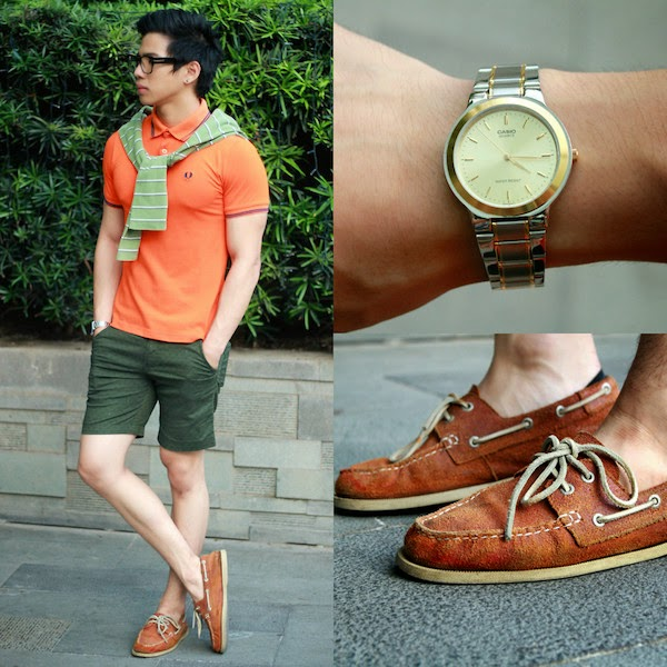 20. Tangerine Summer Mens Fashion, Nick Ronquillo
