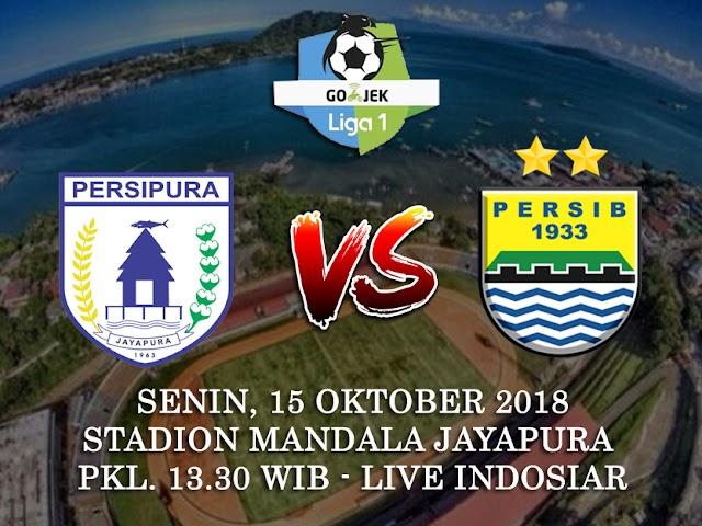 Persib Bandung Siap Hadapi Persipura pada 15 Oktober 2018