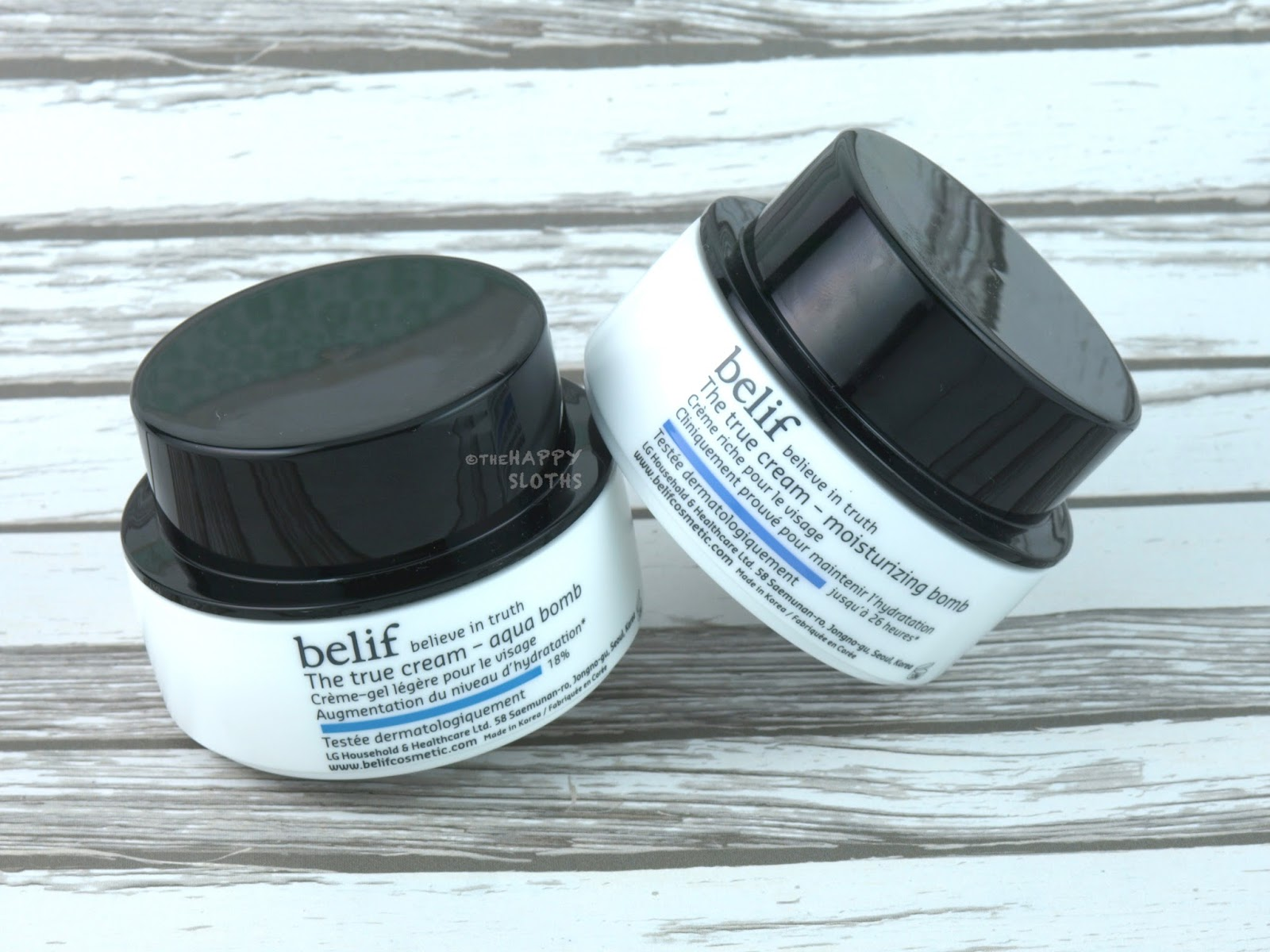 Belif The True Cream | Aqua Bomb & Moisturizing Bomb: Review