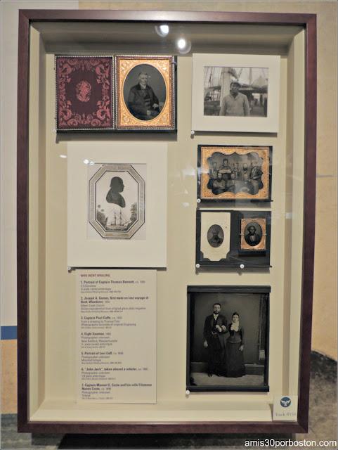 Fotos Marineros en el Museo de las Ballenas de New Bedford