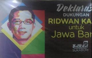 Dukungan Ridwan Kamil Jadi Gubernur Jabar Mulai Muncul