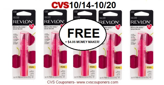 http://www.cvscouponers.com/2018/10/free-406-money-maker-for-6-revlon-kiss.html
