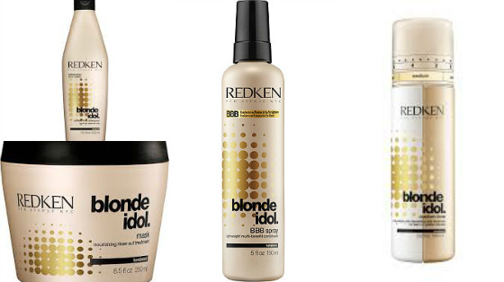 blond idol redken low poo
