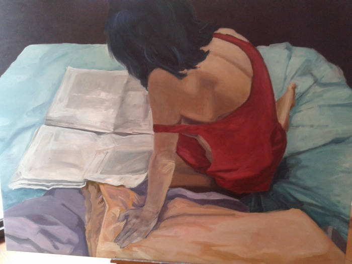 Итальянский художник. Francesca Veneri