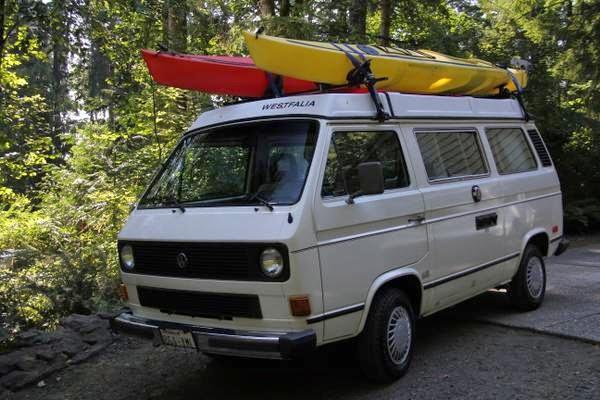 Vw Westfalia Poptop Camper Van