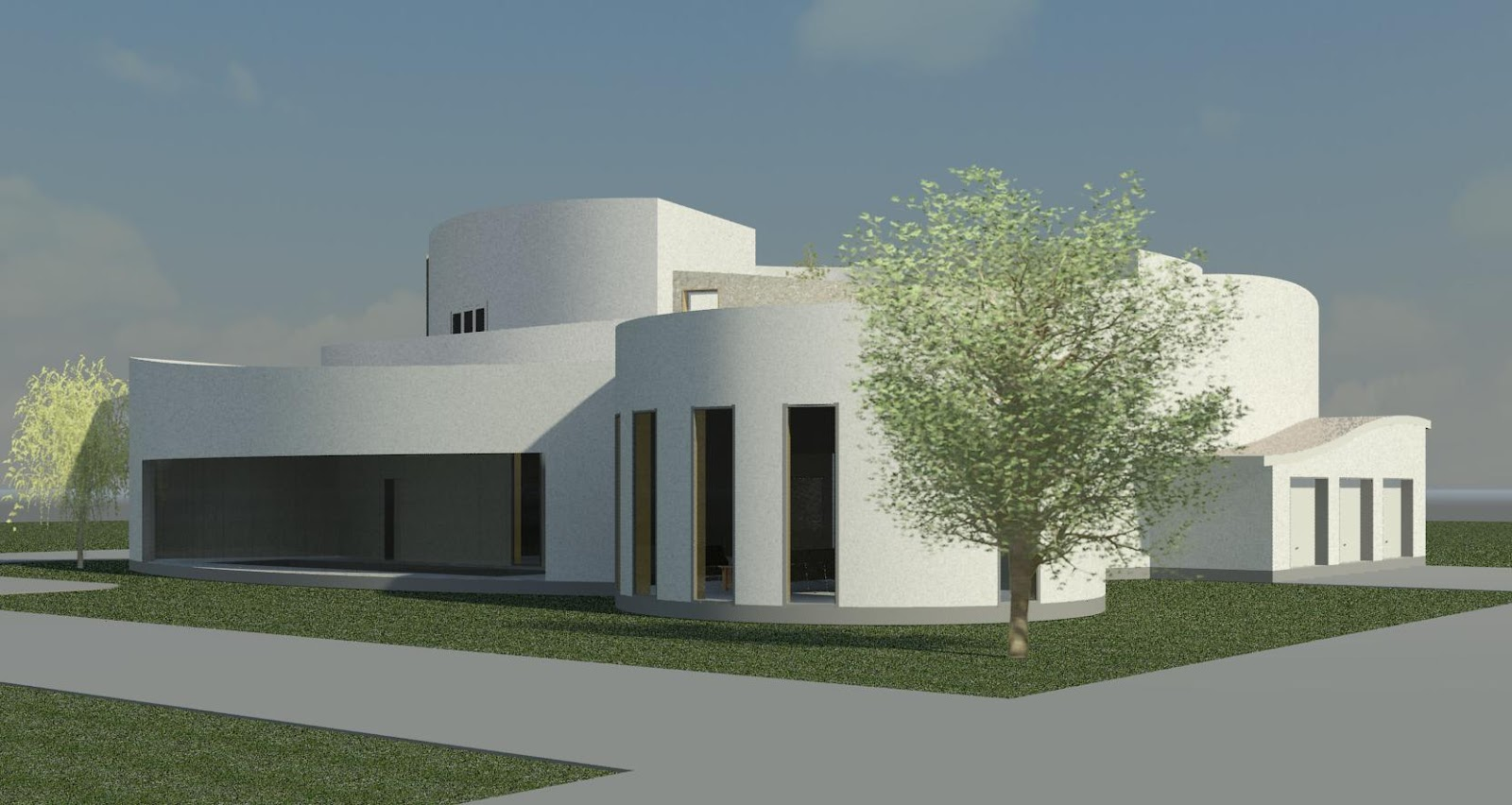 William Le Couteur S Revit Blog House Competitions And