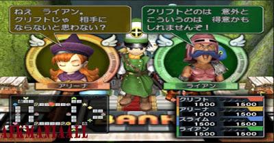 Dragon Quest & Final Fantasy in Itadaki Street Portable PSP PPSSPP ISO