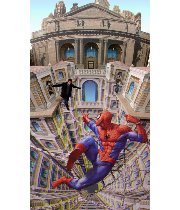 3-dimensional illusions of Kurt Wenner