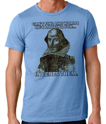 Shakespeare T-shirt on Etsy | gift guide on Tomes and Tequila blog