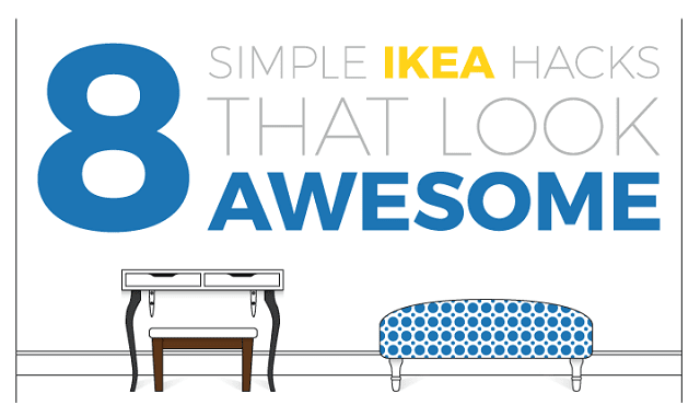 8 Simple IKEA Hacks That Look Awesome