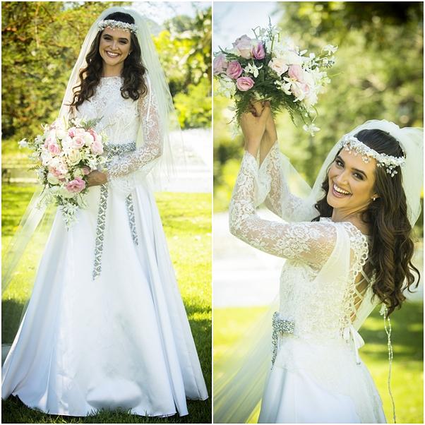 Vestido de noiva Marocas e Samuca o tempo não para