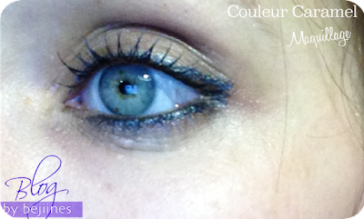 Couleur Caramel make-up yeux Bio