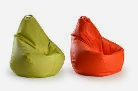Como hacer un puff tipo pera rapido y facil ingeniando - Como hacer un puff pera ...
