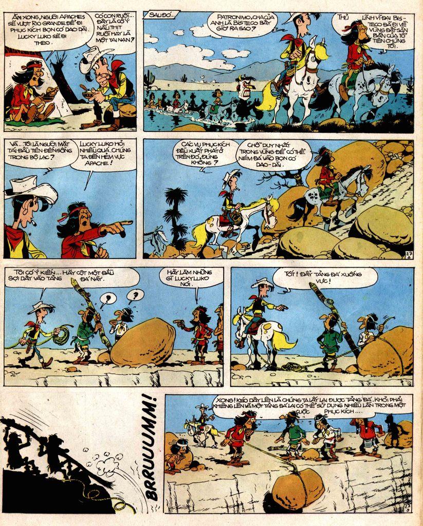 Lucky Luke tap 12 - khe vuc apache trang 27