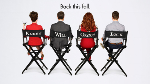 Teaser art for 9th season reboot of Will & Grace