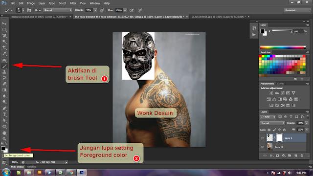 Cara Menggunakan Masking Di Photoshop - Manipulasi foto