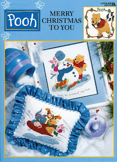 Pooh Merry Christmas To You Cross Stitch Book