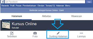 Cara Mengganti Nama Fanspage Facebook Lewat HP