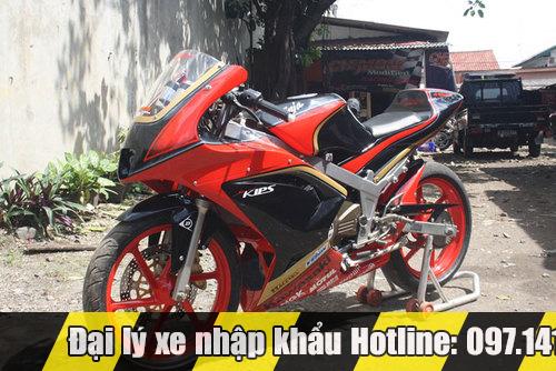 Kawasaki Ninja 150RR độ đơn giản ấn tượng