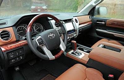 Toyota Tundra Cummins Interior