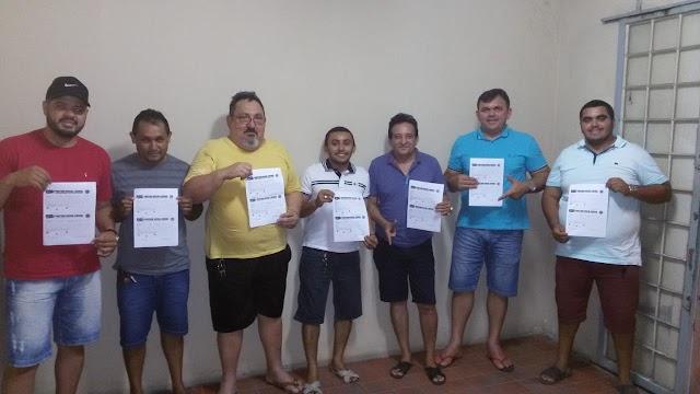 Lideranças Apodienses que tiveram a frente da campanha de Jair Bolsonaro anunciam a diretoria provisoria do partido PSL no município