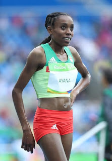 , African Almaz Ayana smashed the world record to win the women's Olympic 10,000 metres race, Latest Nigeria News, Daily Devotionals & Celebrity Gossips - Chidispalace
