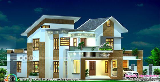 Modern style 4 bedroom residence design