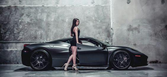 Beautiful Girls With Ferrari Iblog