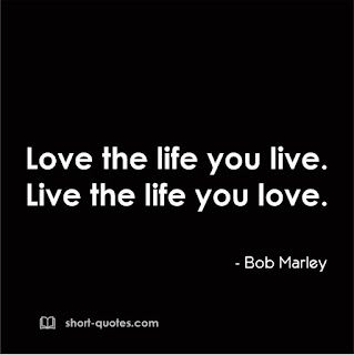love the life quote bob marley