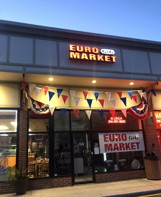 "Products from Albania at ""G & G Euromarket"" in Hartsdale, New York"