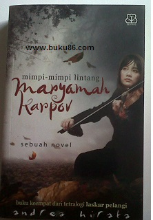 Novel Maryamah Karpov by Andrea Hirata