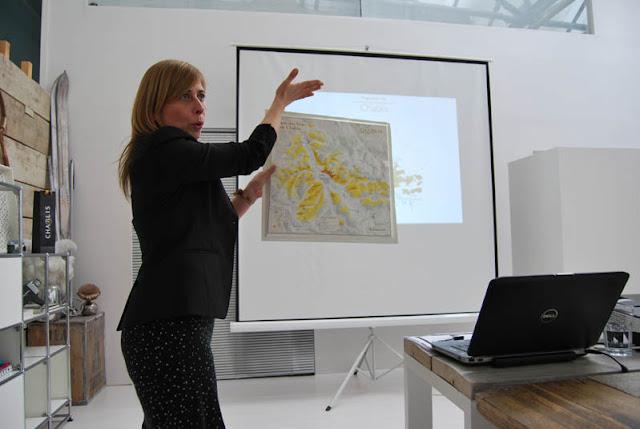 Chablis-Expertin Patricia zeigt vollen Einsatz | pastasciutta.de