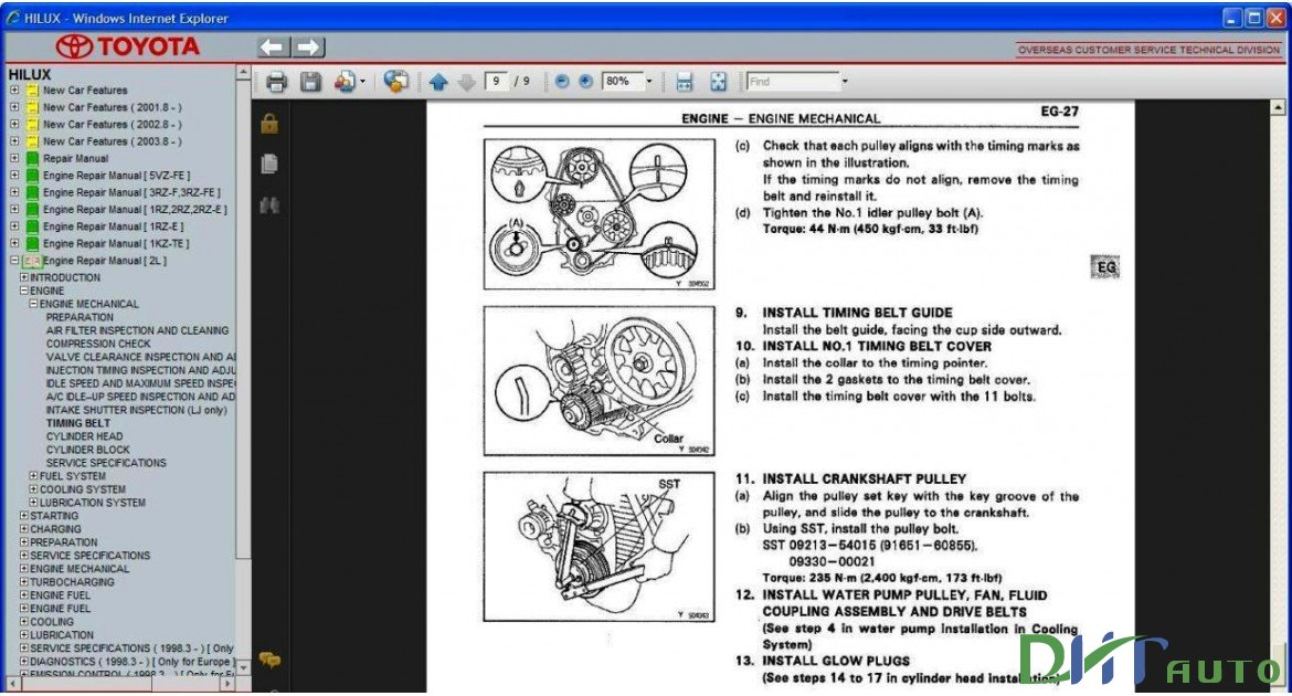 toyota hilux service repair manual update 1997 2005 toyota rh toyota workshopmanuals blogspot com toyota 5l engine repair manual toyota 5l engine service manual