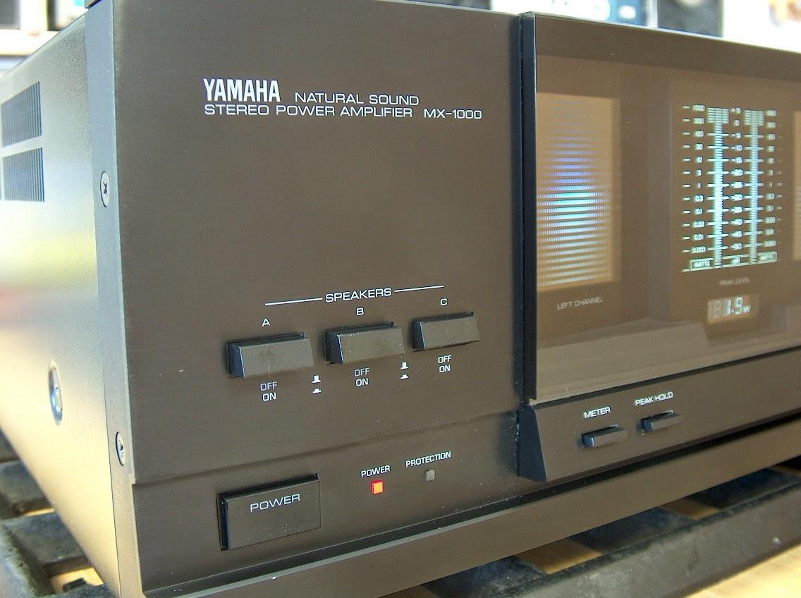 yamaha mx 1000 power amplifier audiobaza. Black Bedroom Furniture Sets. Home Design Ideas