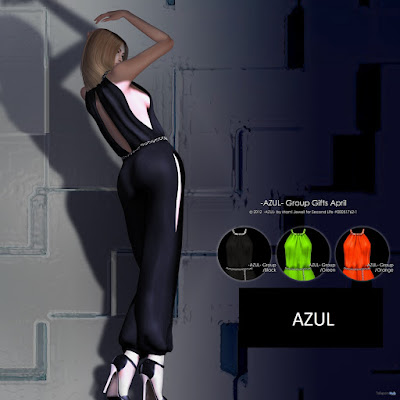 Jumpsuit 3 Colors Group Gift by AZUL