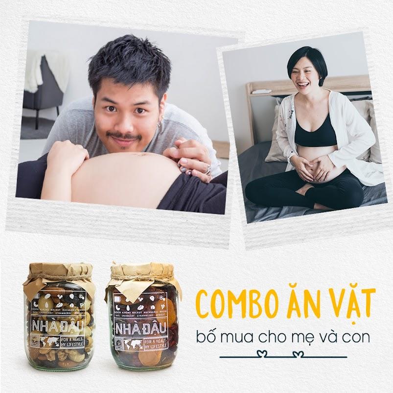 Chế độ dinh dưỡng Bà Bầu 1 tháng ăn vào Con?