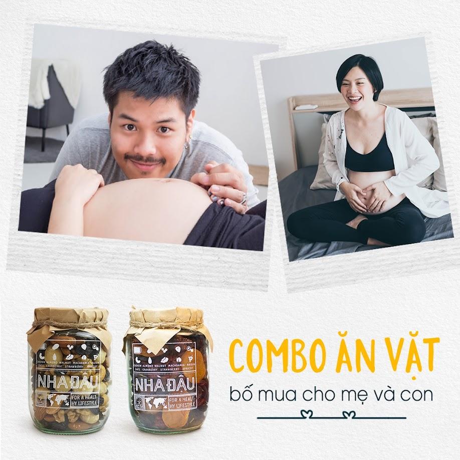 [A36] Bữa phụ với hạt dinh dưỡng có tốt cho Mẹ Bầu ốm nghén?