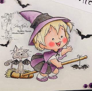 Heather's Hobbie Haven - Broom Ride Card Kit