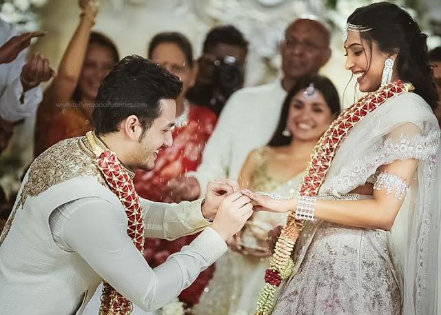Akhil's Engagement Gift By Shriya Bhupal Parents