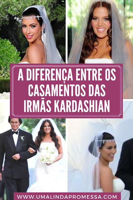 As noivas da família Kardashian