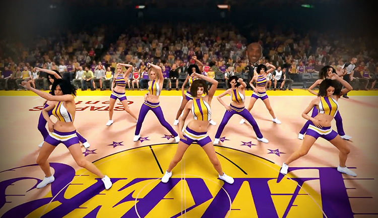 NBA 2K15 Cheerleaders Dancers Motion Capture