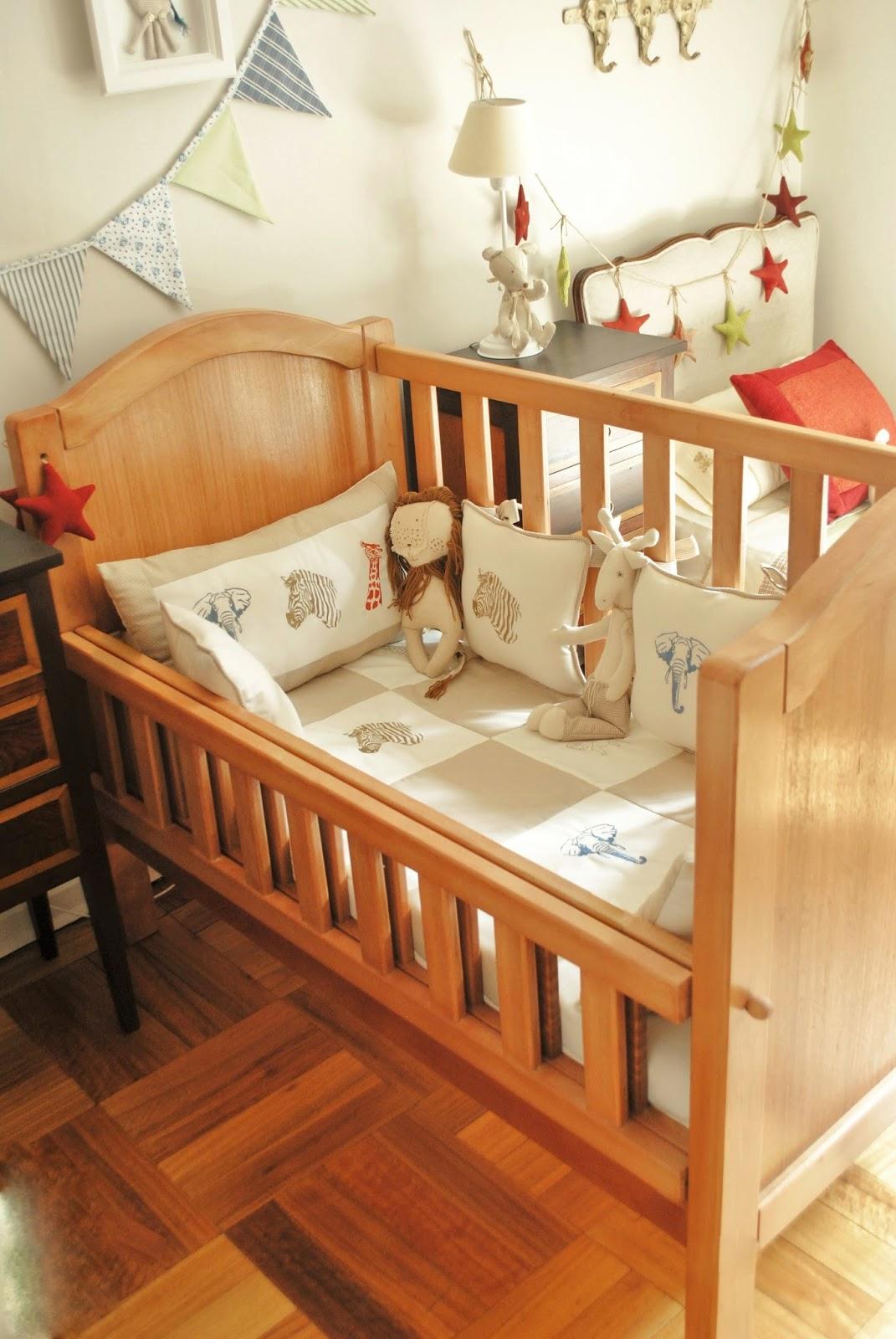 Paz montealegre decoraci n for Cunas para bebes de madera