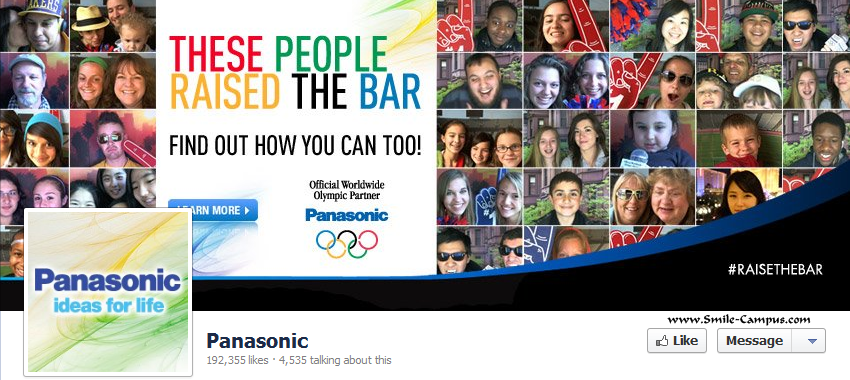 Panasonic on Facebook